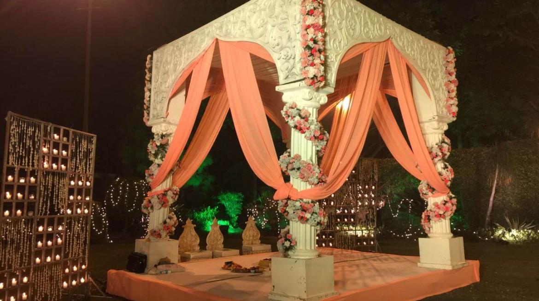EventFAQs – Lovely Delhi Wedding with a 'Rajnigandha Fusion' Theme